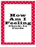 How Am I Feeling: Check-In Cards.