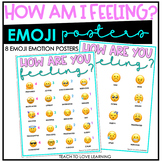 How Am I Feeling Emotions Emoji Poster