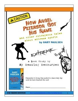 How Angel Peterson Got His Name By Gary Paulsen Book Unit