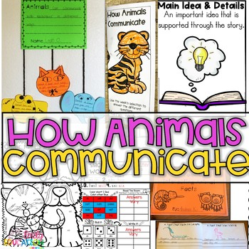 How Animals Communicate Journeys 1st Grade Supplement Acti