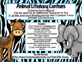 How Animals Communicate Literacy Centers- 1st Grade Journe