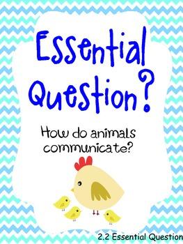 How Animals Communicate Poster Pack Journeys Grade 1
