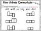How Animals Communicate {spelling, grammar, and phonics practice}