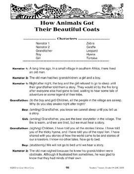 How Animals Got Their Beautiful Coats