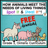 How Animals Meet The Needs of Living Things Spot It & Steal It