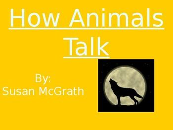 How Animals Talk - Genre & Purpose