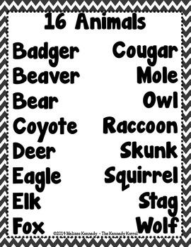 How Animals Talk {Lesson 8}