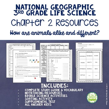 How Are Animals Alike and Different?  National Geographic Life Science Chapter 2
