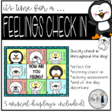 How Are You Feeling? Arctic Animal Themed SEL Check-In