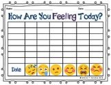 How Are You Feeling-Charting Emotions and Journal Page