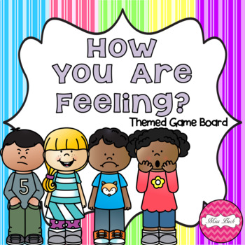 FREEBIE! How Are You Feeling? (Emotions Themed Game Board)