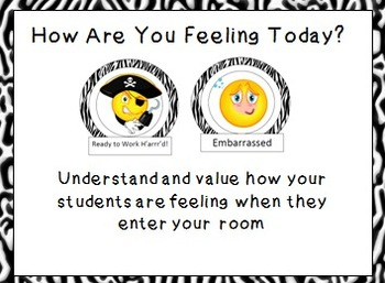 How Are You Feeling Interactive Bulletin Board