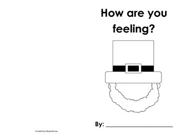 How Are You Feeling? Leprechaun Emotions Book