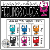How Are You Feeling? Monster Theme SEL Check-In