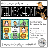 How Are You Feeling? SEL Check-In for Distance Learning or