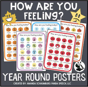 How Are You Feeling? Year Round Posters Pack