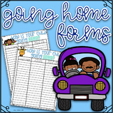 How Are You Going Home?- First Day of School ~ EDITABLE Di