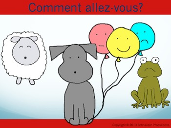 """How Are You?"" in French with Pepper the Pooch"