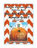How BIG Could Your Pumpkin Grow? Cooking with your Class