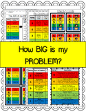 How BIG is my PROBLEM - Worksheet Bundle