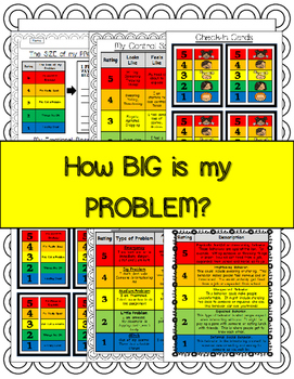 How Big Is My Problem Worksheet Bundle By Everybody Is A Genius