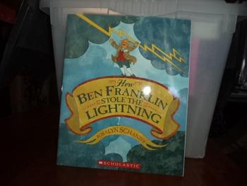 How Ben Franklin Stole the Lightning     ISBN0-439-63466-0