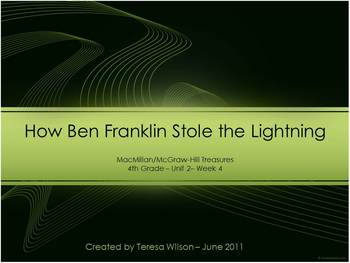 How Ben Franklin Stole the Lightning - Lesson Introduction