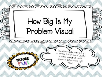 How Big Is My Problem Classroom Visual
