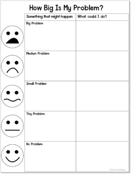 How Big Is My Problem? Chart and Worksheet