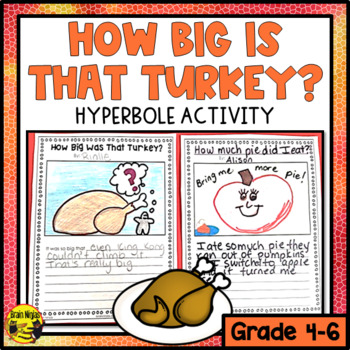 Hyperbole Activities and Task Cards | Sentences, Common cores and ...