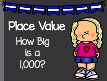 How Big is 1,000? Learning about Place Value