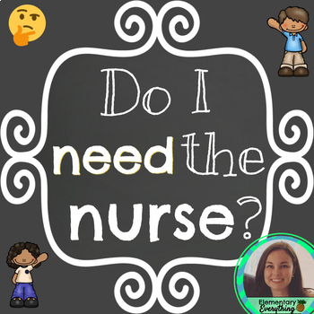 Do I Need the Nurse? Poster /// Health Rating Scale