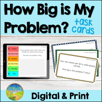 How Big is My Problem Task Cards