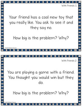 How Big is My Problem Task Cards Free Sampler