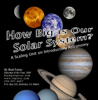 How Big is Our Solar System?