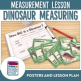 Dinosaur Measurement of Length Lesson Plan and Posters