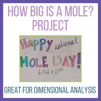 How Big is a Mole? Project