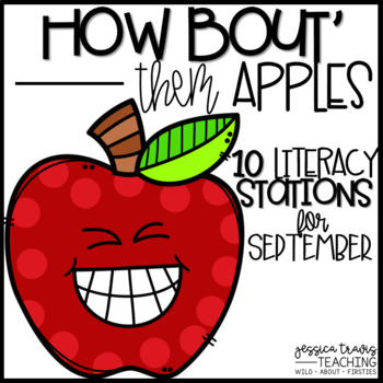 How 'Bout Them Apples! {10 Hands-On Literacy Centers - September}