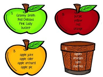 How 'Bout Them Apples (Literacy Activities for Bigger Kids with a Fall Theme)