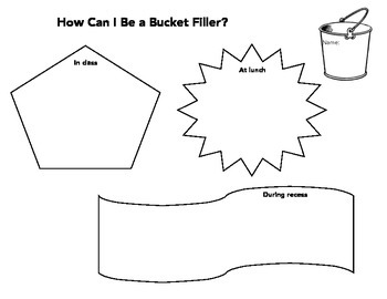How Can I Be a Bucket Filler?