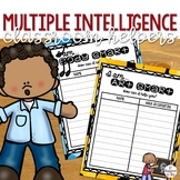 Multiple Intelligence Activity- Classroom Helpers!