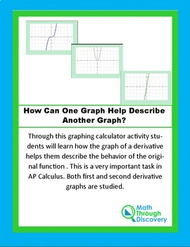 Calculus:  How Can One Graph Help Describe Another Graph?