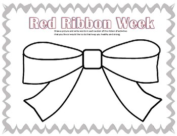 How Can You Be Healthy and Strong? (RED RIBBON WEEK)