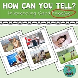 How Can You Tell? Inferencing Card Freebie: speech therapy