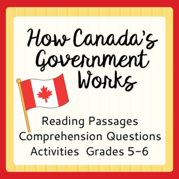Canadian Government Introduction (Grades 5-6)