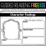 How Characters Feel Graphic Organizer FREEBIE
