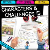 How Characters Respond to Events and Challenges - 2nd Grade RL.2.3
