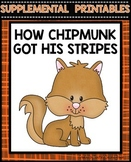How Chipmunk Got His Stripes Journeys
