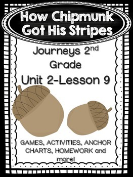 How Chipmunk Got His Stripes Journeys 2nd Grade (Unit 2 Lesson 9)
