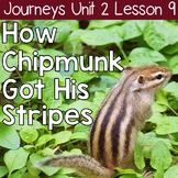 How Chipmunk Got His Stripes: Journeys Unit 2 Lesson 9 Supplemental Resources